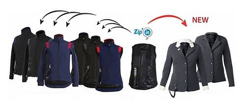 Airshell Liner Airbag Zip'in