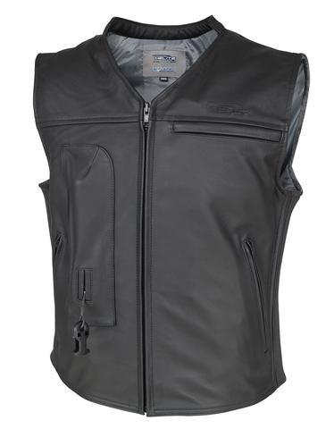 Custom Leather Airbag Jacket